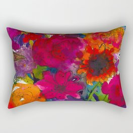 Into The Garden Rectangular Pillow
