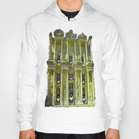 old school Hoodies featuring Old School by Nicholas Bremner - Autotelic Art