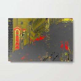 Chicagold. Metal Print