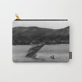 Whales in the Volga River Carry-All Pouch