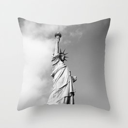 Lady Liberty - NYC Throw Pillow