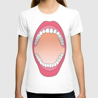 teeth T-shirts featuring Teeth by FACTORIE