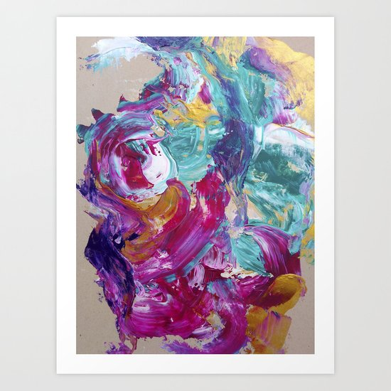 Abstract painting 5 Art Print