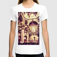 prague T-shirts featuring Prague-Church by jbjart