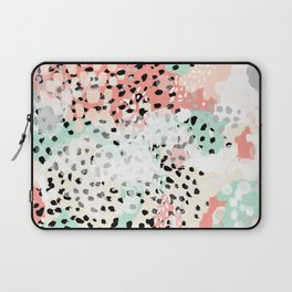 Phoebe - abstract painting minimal gender neutral trendy nursery decor home office art Laptop Sleeve