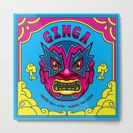 Ginga Metal Print