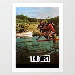The Quest Art Print