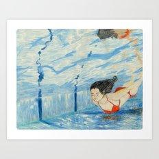 Apnea Art Print