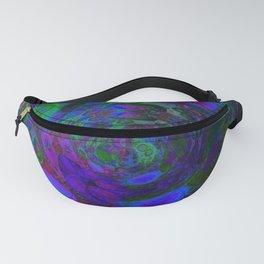 Purple Whirlpool Fanny Pack