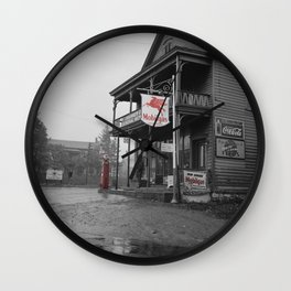 Mobilgas Wall Clock