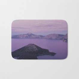 Crater Lake Sunset Bath Mat