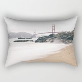 Baker beach Rectangular Pillow