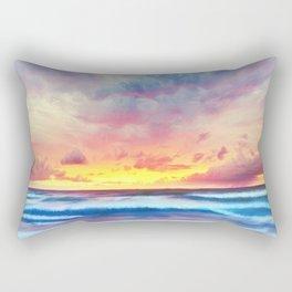 Lonas planet stormy evening Rectangular Pillow