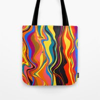 african Tote Bags featuring African Heat by Matthias Hennig