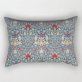 Snakeshead William Morris Textile Pattern Rectangular Pillow
