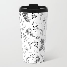 FERN PRINT Metal Travel Mug