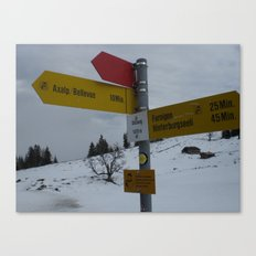 Swiss Adventure Canvas Print