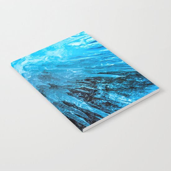 Ice Stalactites Notebook