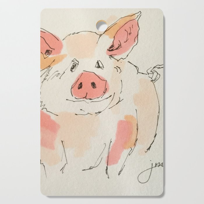 This Little Piggy... Cutting Board