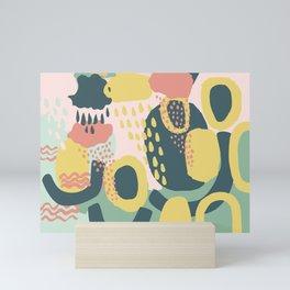 Hide and seek #vectorart #graphic #pattern #joy Mini Art Print