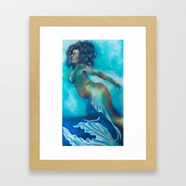 Deep Majik Framed Art Print