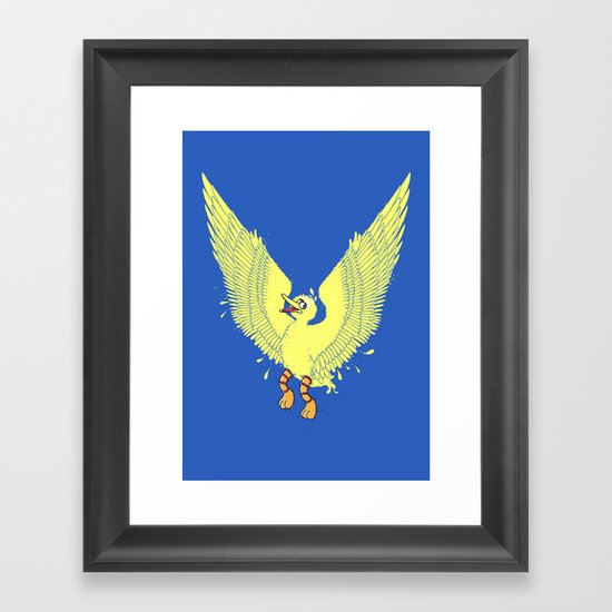 Spread Your Wings! Framed Art Print