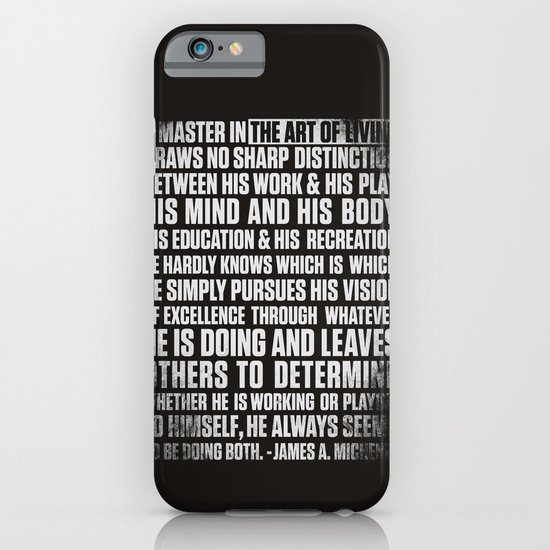 Always Be You-Black iPhone & iPod Case