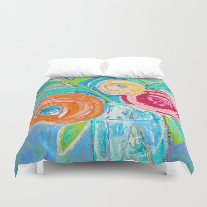 floral no.09 Duvet Cover