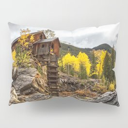 CRYSTAL MILL AUTUMN COLORADO FALL LANDSCAPE Pillow Sham