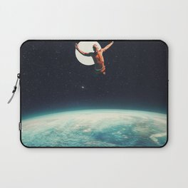 Returning to Earth with a will to Change Laptop Sleeve