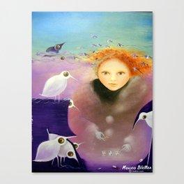 Overcoming Autumn Depression Canvas Print