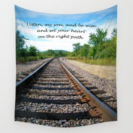 Proverbs 23:19 Wall Tapestry