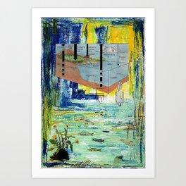 The Dive Art Print