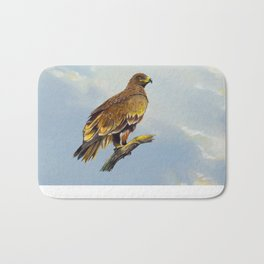 Steppe Eagle Bath Mat