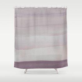 Purple Fields Shower Curtain