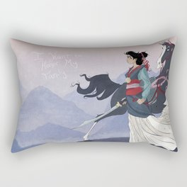 Mulan Rectangular Pillow