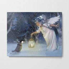 Angel Night Metal Print