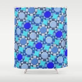 Geometrix 168 Shower Curtain