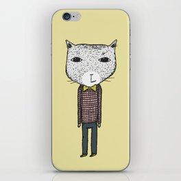 Mr. Cat iPhone Skin