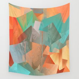 Glitch 5 Wall Tapestry