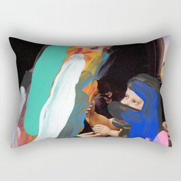 Untitled Compositon 751 Rectangular Pillow