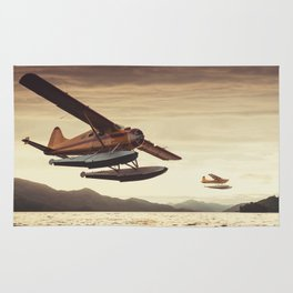 Flying in the Sunset Rug