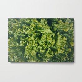 salad texture Metal Print