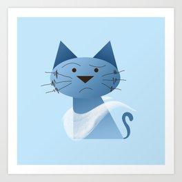 animaligon - Cat Art Print