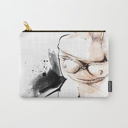 Shibari - Japanese BDSM Art Painting #14 Carry-All Pouch