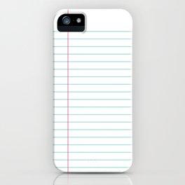 Notepaper iPhone Case