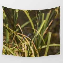 Dragonfly in the marsh Wall Tapestry