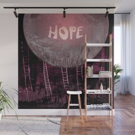 Hope, Climbing / Wonderful Planet 13-11-16 Wall Mural