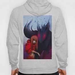 Red hood and the Wolf Hoody