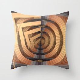Déja Vu Throw Pillow